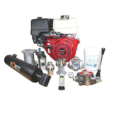 Honda Motor GX160Hydraulischer Holzspalter Kit geben ca. 7,7Tonnen Spaltkraft 3000U/min und 3045PSI-210bar zz004719 (Ein Ca Log)