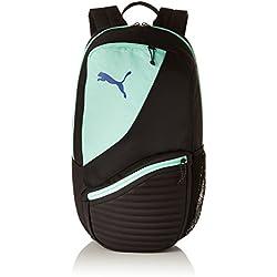 Puma 75573 Backpack, Unisex Adulto, Black/Biscay Green, OSFA