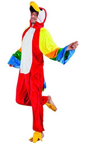 enenkostüm Papagei aus Plüsch, XL (Halloween-kostüme Für Mann Und Frau)