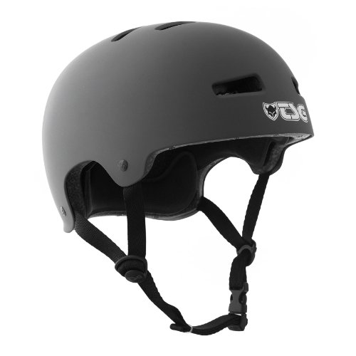 TSG Helm Evolution Solid Colors, flat-grey, 54-56 cm (S/M), 750461-35-128