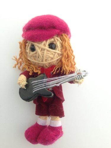 Angus Young von AC/DC String Doll Voodoo-Puppe Schlüsselanhänger Glücksbringer