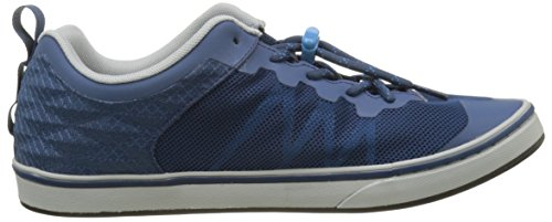 The North Face Base Camp Flow, Chaussures de Running Homme Bleu (Shady Blue/cendre Blue)