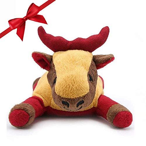 Pro Goleem Dog Toy Soft Plush Toy for Puppy Christmas Dog Toys for Boredom,Elk