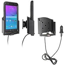 Brodit 521694 - Soporte (Tablet/UMPC, Encendedor de cigarrillos, USB, Activo, Coche, Gris, Samsung Galaxy Note 4 & for Otterbox Defender Series.)