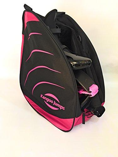 kangoo jumps bag black pink