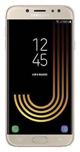 Samsung Galaxy J7 (2017) Smartphone, Gold, 16 GB Espandibili,...