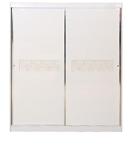 HomeTown Alicia Sliding Wardrobe (White)