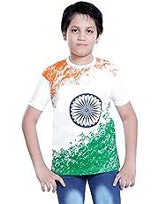 Sale Mart Kids Tri Colour Printed T-Shirt