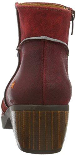 art ZUNDERT, Bottes Classiques femme Rouge (Wax Rioja)