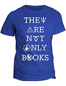 Tshirt They are not only books Harry Potter - in cotone by Fashwork