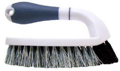 Poly Scrub (Quickie Home Pro Scrub Brush Poly Fibers Blue White by Quickie)