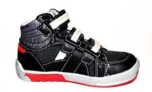 30 f眉r und Schwarz Schwarz trendige in Jungen stylische 25 Gr TMY Sneaker P5vwIcq