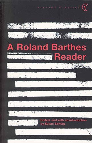 A Roland Barthes Reader (Vintage Classics) por Roland Barthes