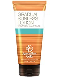 Australian Gold Gradual Sunless Lotion, 1er Pack (1 x 177 ml)