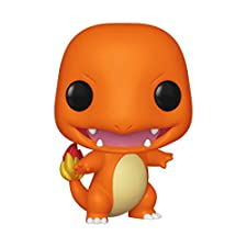 Grow your vinyl collection with latest Pokémon vinyl figures from Funko! This Charmander will be happy to join your collection of Pokémon vinyl figures in addition to Bulbasaur and Pikachu. Charmander stands approximately 3 ¾ inches tall and is packa...