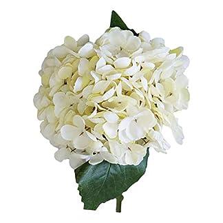 ValianhAgen – Ramo de hortensias Artificiales para decoración del hogar o Boda, 1 Unidad