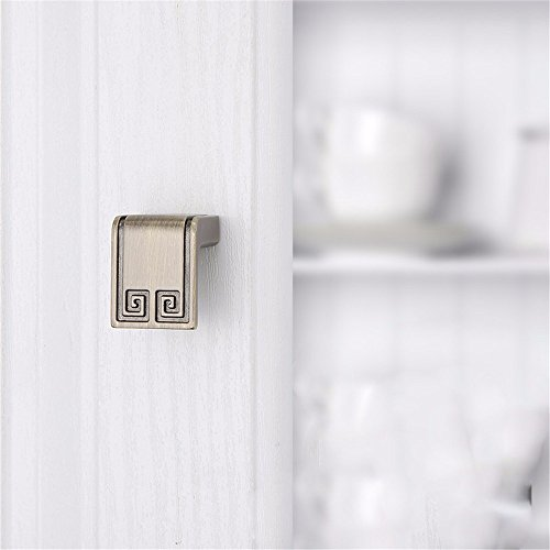 Mmdlai maniglia in bronzo verde maniglia per porta armadio maniglia per porta a singolo foro maniglia per porta hardware a manopole maniglia