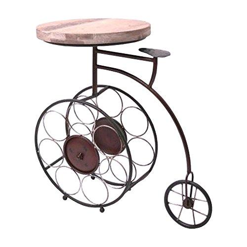 Gueridon tavolo portabottiglie per bicicletta triciclo
