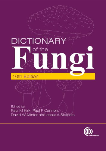 Dictionary Of The Fungi, 10th Edition por P.m. Kirk epub