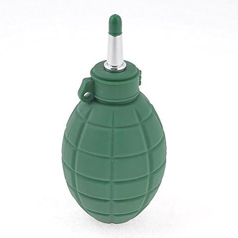 Verde Caucho Aire Polvo Soplador Herramienta De Limpieza Limpiador Bola para teléfono Lente