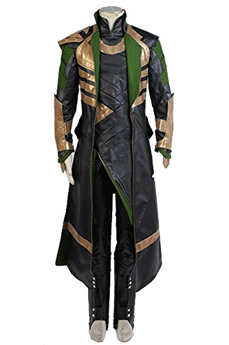 Fuman Thor The Dark World Loki Outfit Set Cosplay Kostüm M (Loki Thor Kostüme)