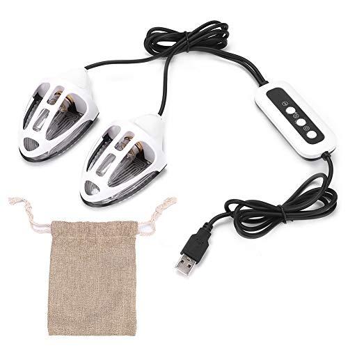 Riuty Ultraviolette Schuhtrockner, tragbarer Schuh-Desodorierer mit PTC-Heizungs-Trocknungsfunktion für Haushaltskleidungsschuh -