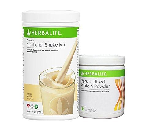 Herbalife Formula 1 Vanilla Shake Formula 3 Protein Powder - 500 g  available at amazon for Rs.1699