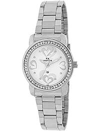 Maxima Analog White Dial Women's Watch - 42861CMLI