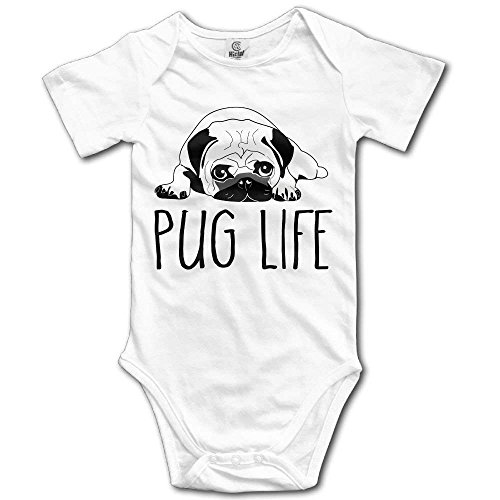 Pillow hats Toddler Climbing Bodysuit Pug Life Infant Climbing Short-Sleeve Jumpsuit Usa Infant Bodysuit