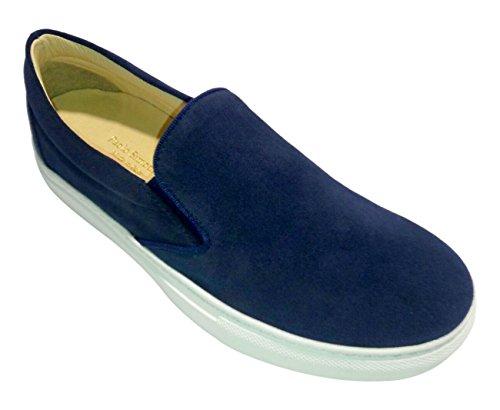 Paolo Simonini Van Pant, Sneakers basses femme Bleu