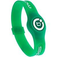 Bioflow Sport–Pulsera magnética, color verde/blanco, blanco, XL 22.0cm