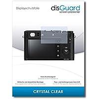 [2 Stück] Fujifilm X100F Displayschutzfolie disGuard® [Crystal Clear] Kristallklar, Transparent, Unsichtbar / Extrem Kratzfest, Anti-Bläschen, Anti-Fingerabdruck, Kratzschutz, Displayschutz / Folie, Displayfolie, Schutzfolie