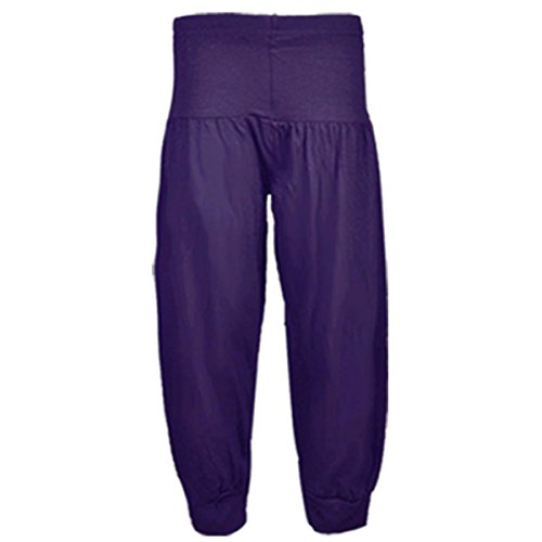 NOW MORE COLOURS KIDS Girls Tween Alibaba Harem Pant Trousers PLAIN AND PRINTED ALL COLOURS Age 7-13 YEARS