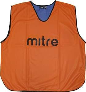 Mitre Dossards d'entrainement homme 1 pièce Orange/Royal S Hommes