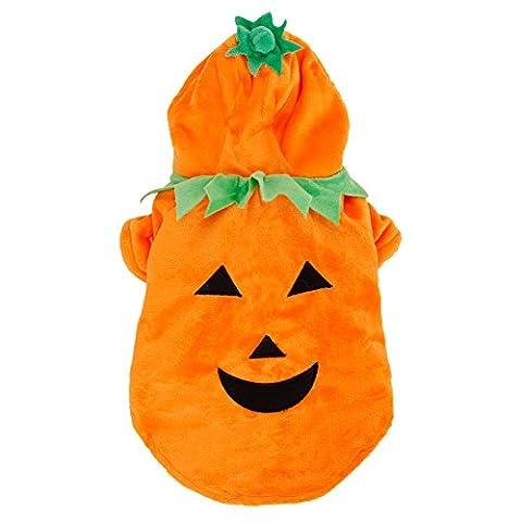 Gros Chien Costumes Pour Halloween - PAWZ Road Halloween Citrouille Pumpkin Vêtements D'animaux