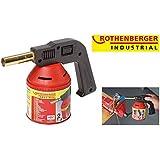 Rothenberger Industrial RoFlame Premium, Lötlampe, Arbeitstemperatur 650 Grad Celsius, 35930