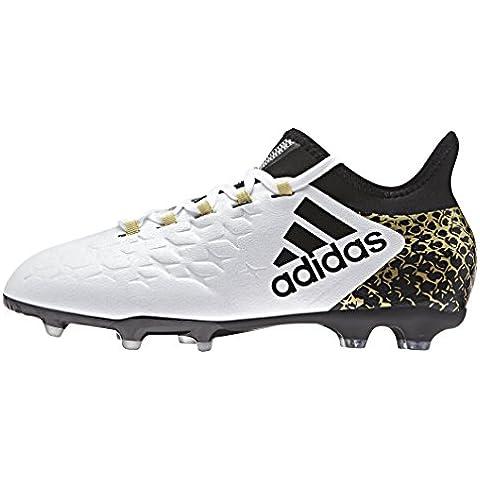 adidas X 16.1 Fg J, Botas de Fútbol para Niños