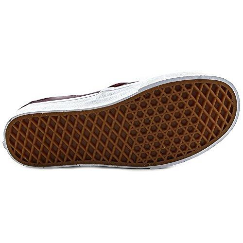 Vans Classic Slip-on Mule Unisex-Erwachsene Sneaker Rot (leather/port Royale/true White)