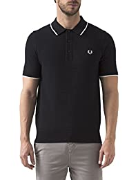 Fred Perry Chequerboard Black, Polo