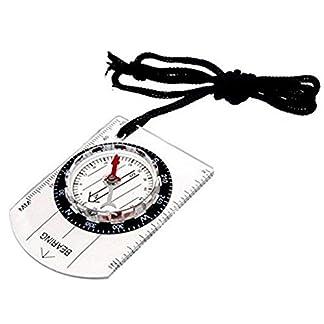 Westeng Lightweight Map Ruler Compass Orienteering Compass Walking Hiking Mountaneering Pathfinder Equipment Compass Expedition 17