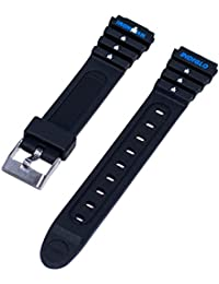 Timex Ironman Triathlon Women's 15mm Small Classic Black Sport Indigo Replacement Watch Band T82271