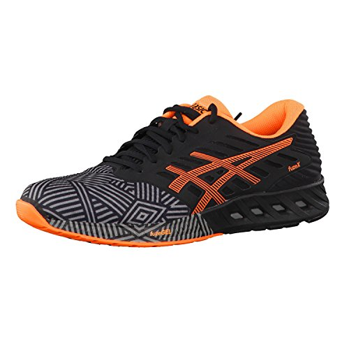 Asics Fuze X Aluminum Hot Orange Black 9630 ALU/ORANGE/BLK