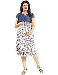 e28e6fe0b4007 Amazon.in: Mamma's Maternity - Dresses / Western Wear: Clothing ...