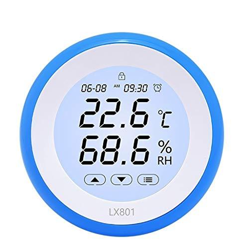 Unbekannt Hohe Qualität Elektronischer Temperatur- und Feuchtigkeitsmessgerät Multifunktionales Kinderzimmer Kühlschrank-Thermometer-Hygrometer-Monitor Breites Einsatzspektrum