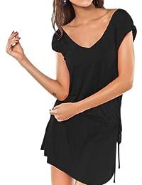 Ladies Women Beach Dress Cover up Kaftan Swim wear Skirt Bikini Dress Fashion