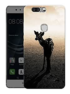 "Humor Gang Zebra LifePrinted Designer Mobile Back Cover For ""Huawei Honor V8"" (3D, Matte Finish, Premium Quality, Protective Snap On Slim Hard Phone Case, Multi Color)"