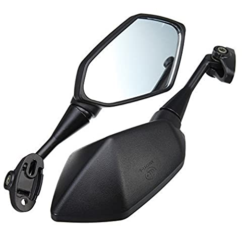Euroeshop Universal Motorcycle Rearview Side Mirrors Parts Motorbike Wing Mirrors