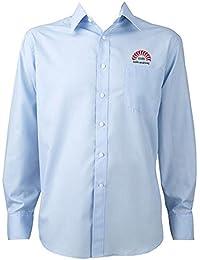 IIMB Cs Cotton Full Sleeve Collar Men OMG Shirt (Blue, Medium-40)