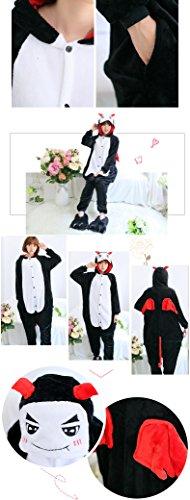 Tonwhar Kigurumi Pyjama Adulte Anime Cosplay Halloween Costume Onesie Demon
