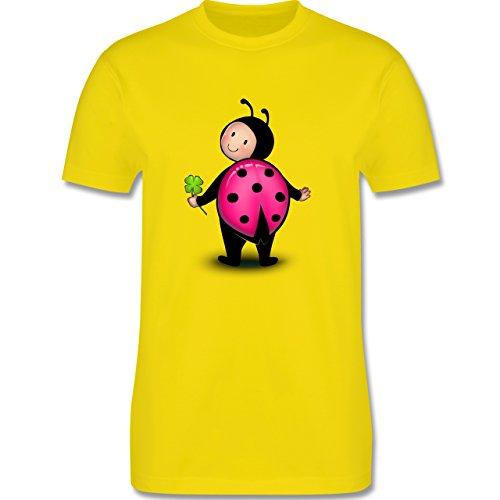 Karneval & Fasching - Marienkäfer - Herren Premium T-Shirt Lemon Gelb